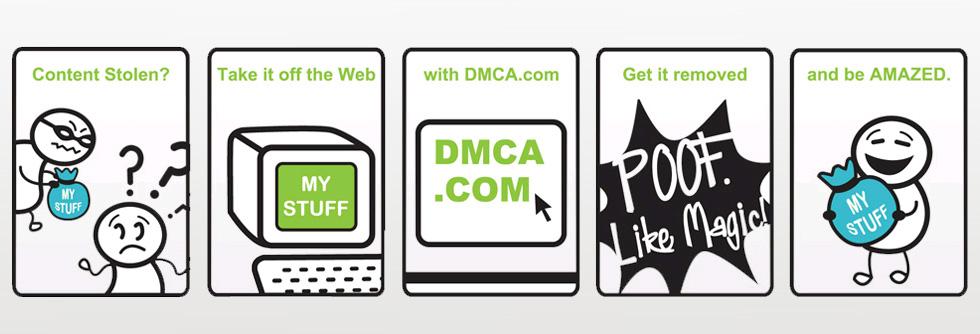 Hình ảnh minh họa chứng chỉ DMCA